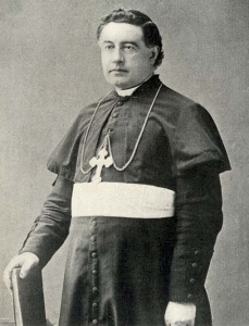 Portrait of the Rt. Rev. Camillus Paul Maes, D.D., shortly after becoming Third Bishop of Covington. Archives of the Diocese of Covington.