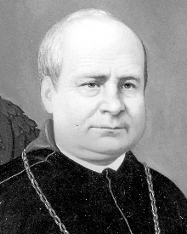 Peter Paul LeFevre, Bishop of Detroit (1841-1869), like Maes, a fellow Belgian born in Roulers, West Flanders. At the seminary at Bruges, Belgium, he discovered an interested Camillus Maes and brought him to the Diocese of Detroit in 1869. Provided.