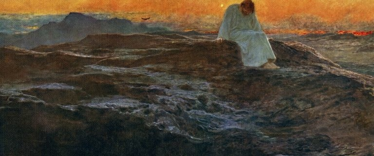 Jesus in Wilderness